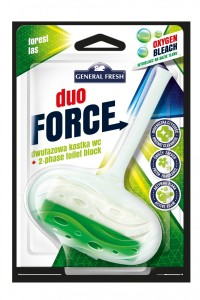 Kostka do WC DUO FORCE zawieszka 40g las GENERAL FRESH