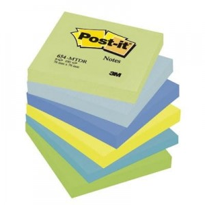 Blocz.76x76 p.MARZYCIE.654MTDR 6 szt.POST-IT 3M   FT510283516