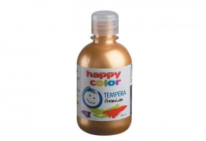 Farba TEMPERA Premium 300ml złoty HAPPY COLOR 3310 0300-11