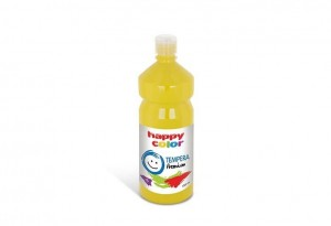 Farba TEMPERA Premium 1000ml żółty HAPPY COLOR 3310 1000-1