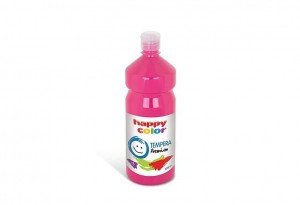 Farba TEMPERA Premium 1000ml cyklamen HAPPY COLOR 3310 1000-23