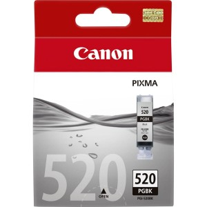 Tusz CANON (PGI-520BK/2932B001) czarny 1500str/19ml IP3600/IP4600/MP540