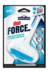 Kostka do WC DUO FORCE zawieszka 40g morze GENERAL FRESH