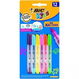 Flamastry 12k.MINI KID COULEUR 8374901/8374903 BIC
