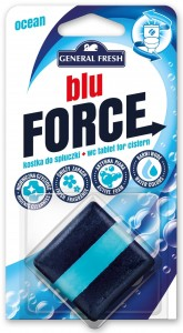 Kostka do WC BLU FORCE do spłuczki 50g morze GENERAL FRESH