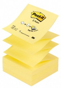 Bloczek 3M POST-IT Z-Notes R-330 76x76mm 100k 70005288421