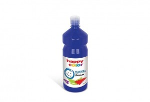 Farba TEMPERA Premium 1000ml granatowa HAPPY COLOR 3310 1000-33