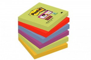 Bloczki 3M POST-IT 76x76mm MARRAKESZ 6x90k Super Sticky 70005251270