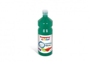 Farba TEMPERA Premium 1000ml ciemnozielona HAPPY COLOR 3310 1000-52