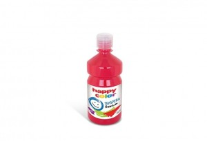 Farba TEMPERA Premium 500ml czerwona HAPPY COLOR HA 3310 0500-2