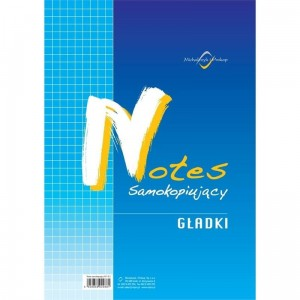 N-110-1 Notes A-4 samokop.gład MICHALCZYK I PROKOP