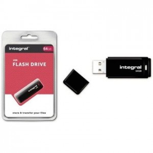Pamięć USB INTEGRAL 64GB 2.0 BLACK INFD64GBBLK