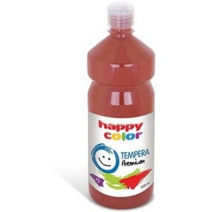 Farba TEMPERA Premium 1000ml brązowa HAPPY COLOR 3310 1000-7