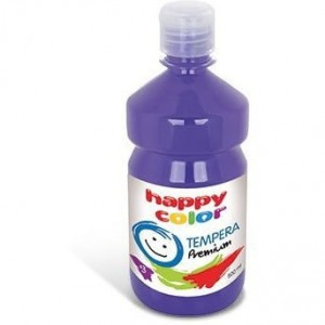 Farba TEMPERA Premium 500ml fioletowa HAPPY COLOR HA 3310 0500-61